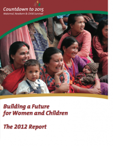 Maternal health child survival countdown to 2015(2)