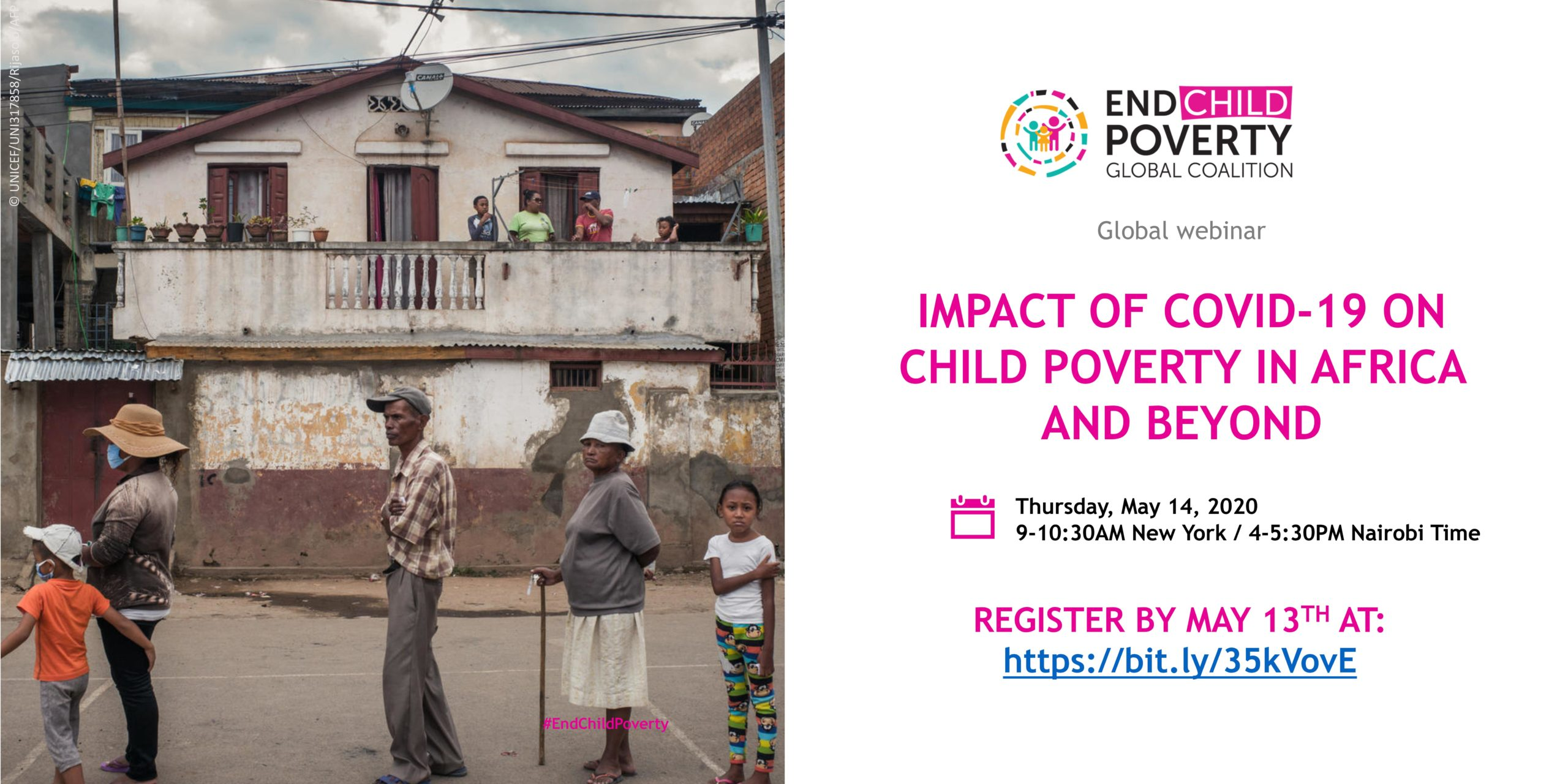 Global Coalition to End Child Poverty Webinar – Impact of COVID-19 on child poverty in Africa and beyond